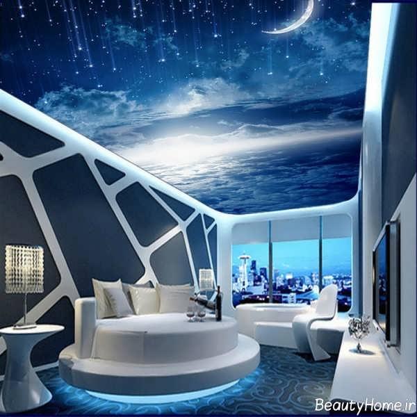کاغذ سقفی طرح شب