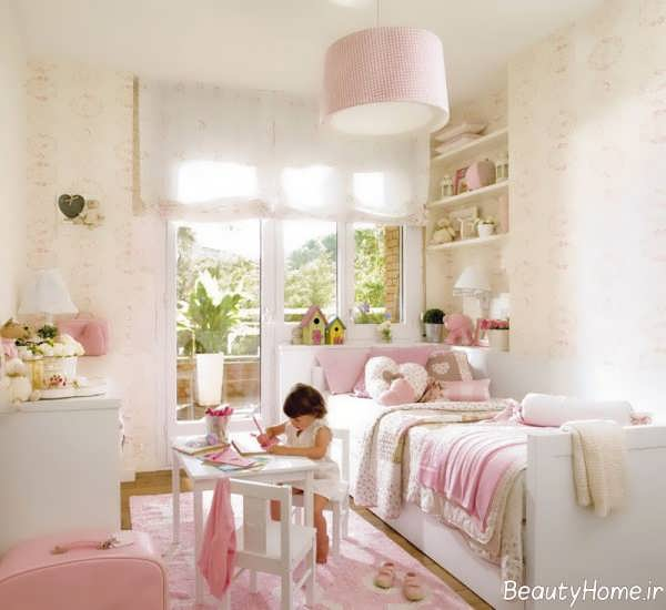 دکوراسیون زیبا و کاربردی اتاق کودک