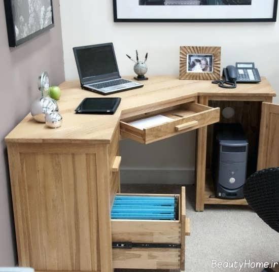 طراحی ساده میز اداری