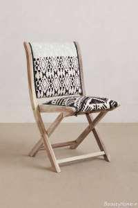 صندلی طرح دار تاشو