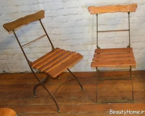 صندلی چوبی و شیک