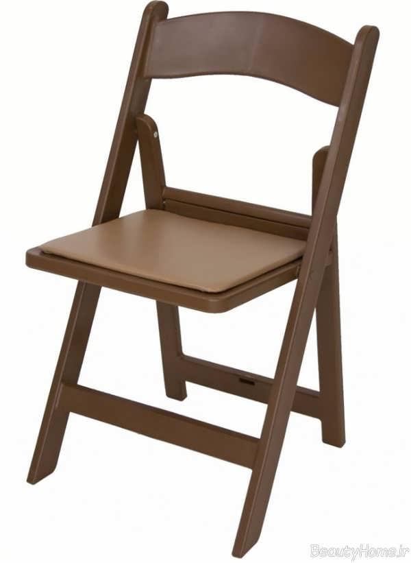 صندلی تاشو چوبی
