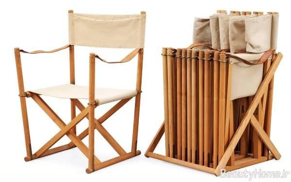 مدل صندلی شیک و چوبی