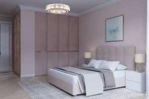 اتاق خواب زیبا و صورتی