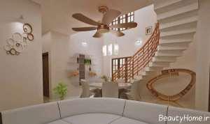 دکوراسیون زیبا و شیک خانه دوبلکس