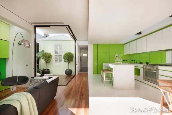 طراحی داخلی خانه دوبلکس