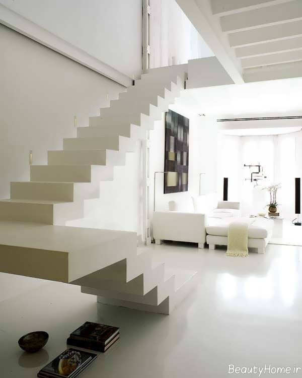 دکوراسیون مدرن خانه دوبلکس