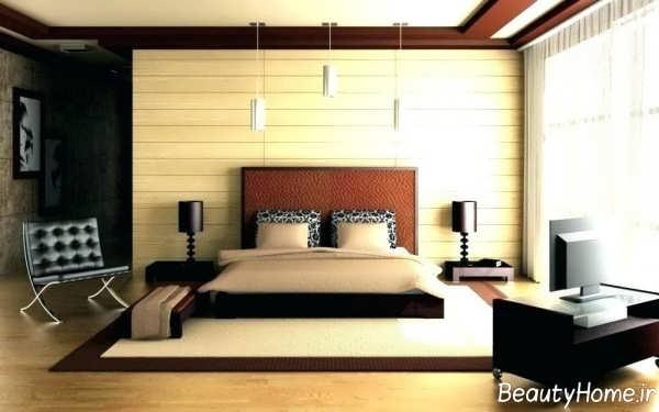 طراحی داخلی اتاق خواب دوبلکس