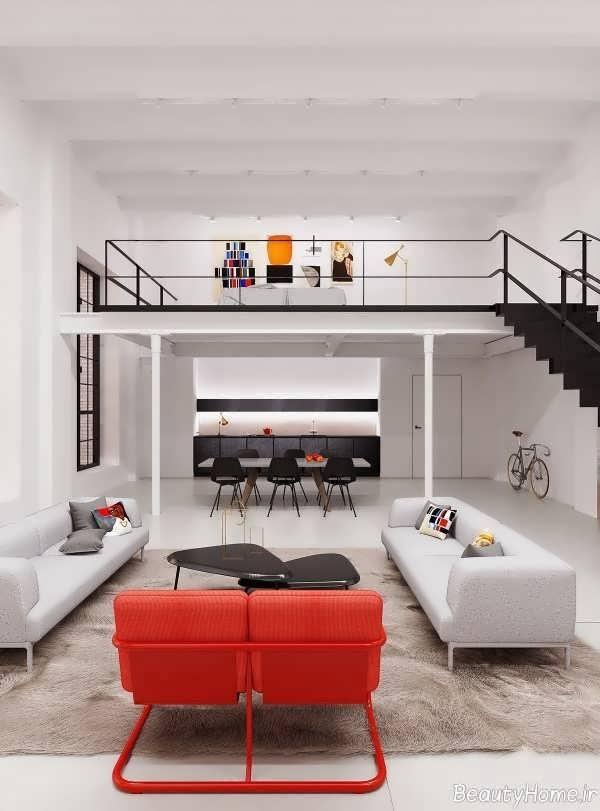 دکوراسیون داخلی خانه دوبلکس