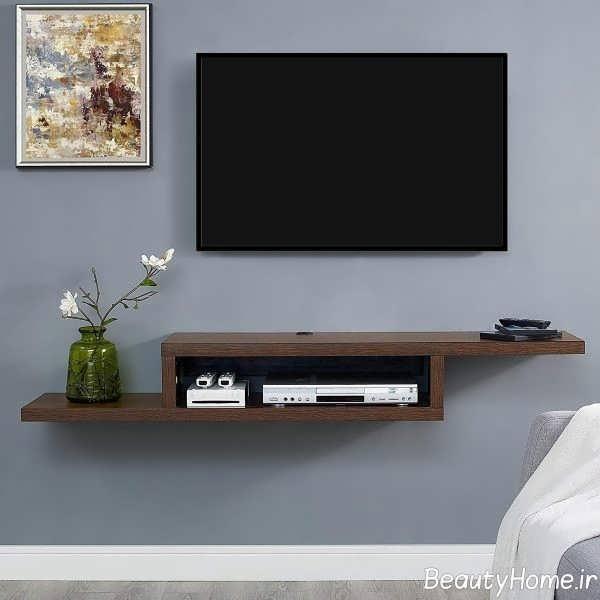سبک دیواری میز تلویزیون