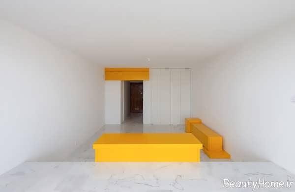 دکوراسیون مدرن خانه آپارتمانی