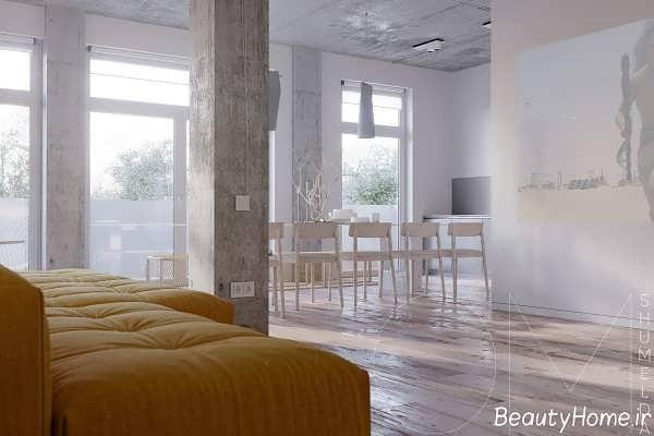 دکوراسیون زیبا و مدرن خانه آپارتمانی