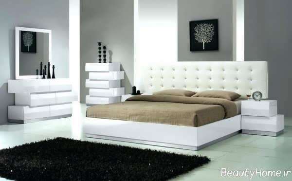سرویس خواب سفید برای عروس