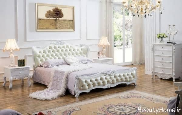 سرویس خواب زیبا و سفید