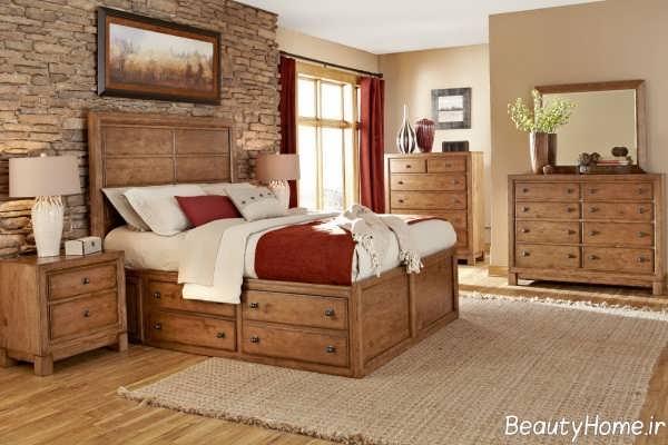 سرویس خواب کلاسیک و زیبا