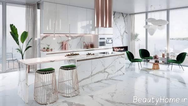 دیزاین مسی آشپزخانه