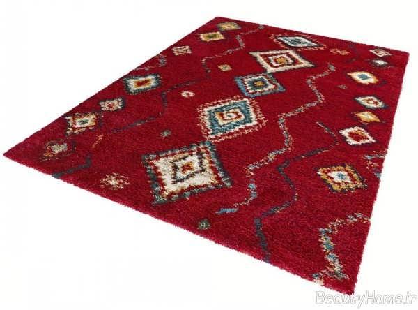 فرش طرح دار و شیک