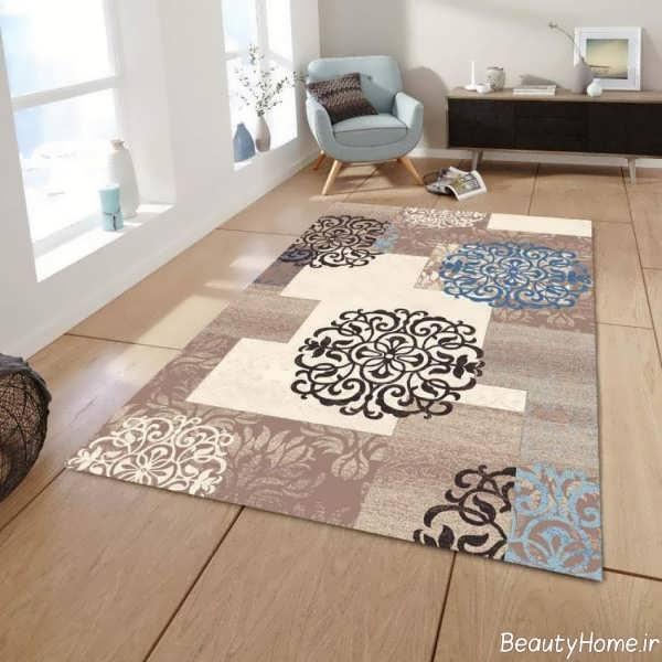 فرش طرح دار و زیبا