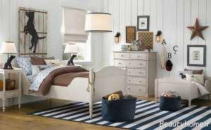 دیزاین داخلی اتاق خواب پسرانه
