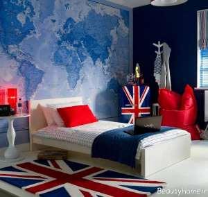 تزیین اتاق خواب پسرانه