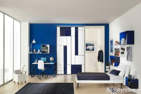 طراحی داخلی اتاق پسرانه