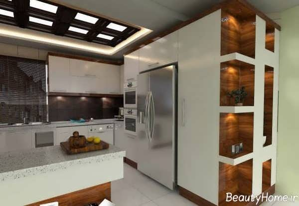 نورپردازی آشپزخانه عروس