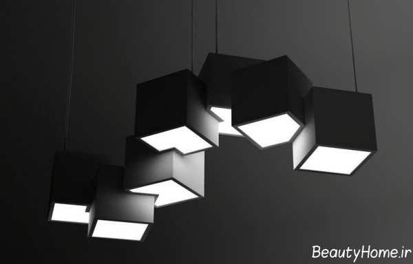 مدل چراغ زیبا و مدرن سقفی