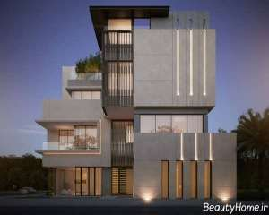 نمای مدرن ساختمان