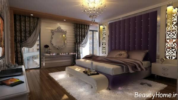 دکوراسیون سلطنتی اتاق خواب