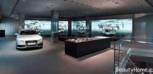 دکوراسیون داخلی نمایشگاه ماشین