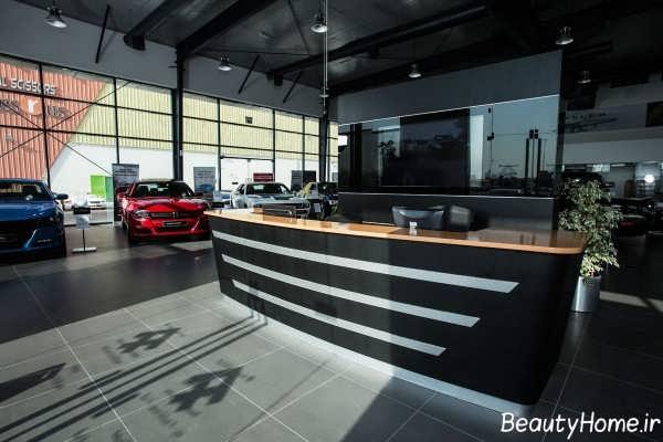 طراحی نورپردازی نمایشگاه ماشین
