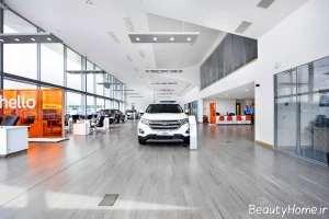 طراحی نورپردازی برای نمایشگاه ماشین