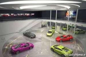 طراحی داخلی نمایشگاه اتومبیل