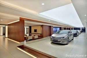 دیزاین داخلی نمایشگاه اتومبیل