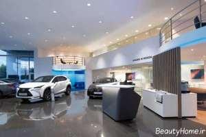 نورپردازی نمایشگاه ماشین