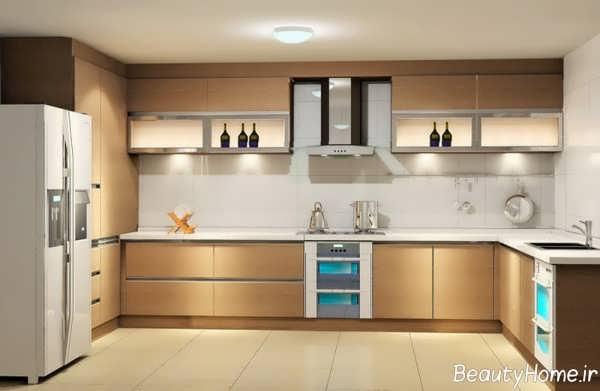 ۷۰ طرح کابینت آشپزخانه جدید و لاکچری برای خانه های ایرانی