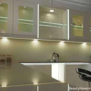 نورپردازی مدرن آشپزخانه