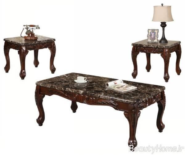 میز پذیرایی زیبا و جدید