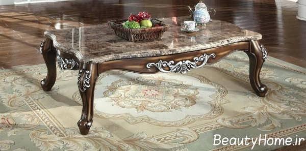 میز پذیرایی زیبا و شیک