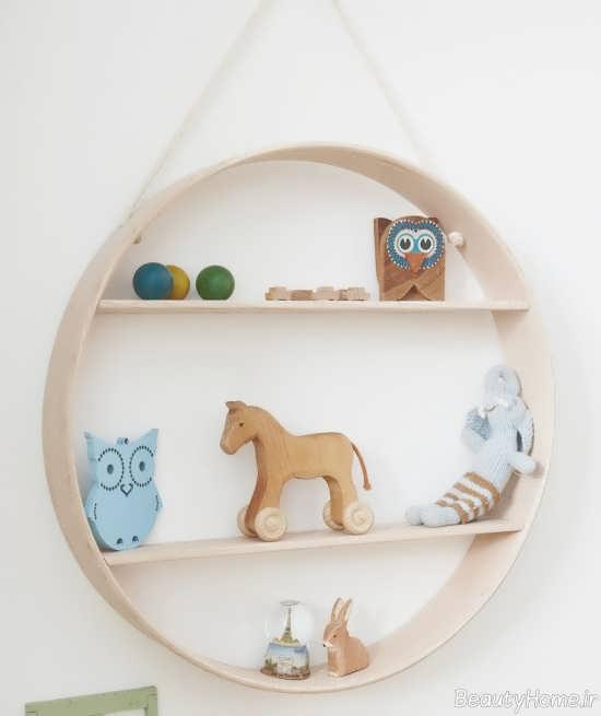 شلف دیواری اتاق نوزاد