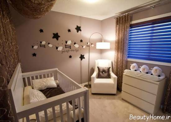 طراحی و تزیین اتاق نوزاد