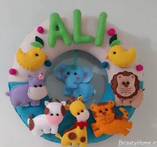 تزیین زیبا و جالب اتاق نوزاد