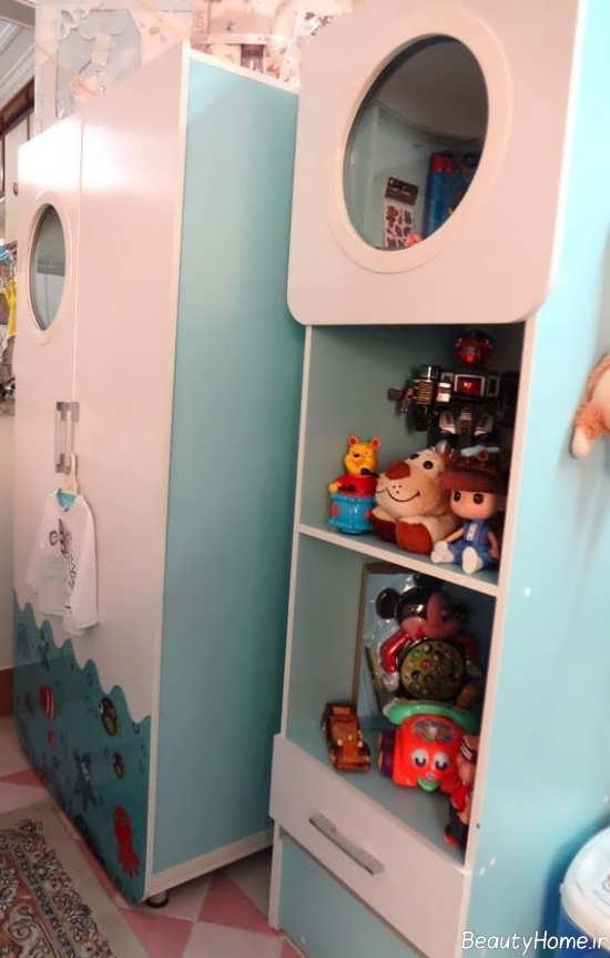 چیدمان سیسمونی اتاق نوزاد