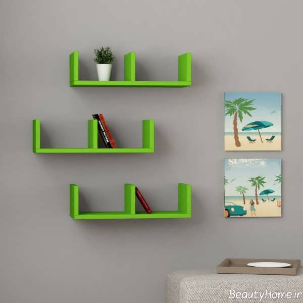 باکس دیواری سبز
