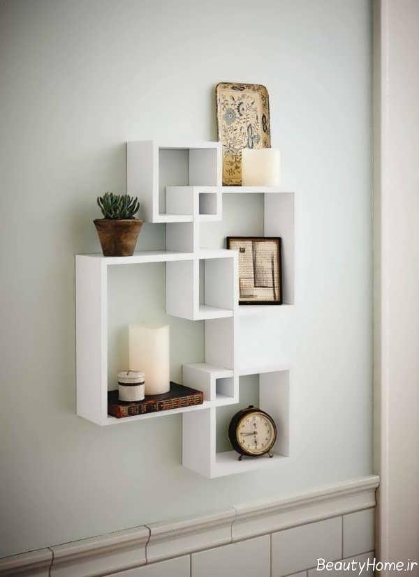 باکس دیواری سفید و ساده