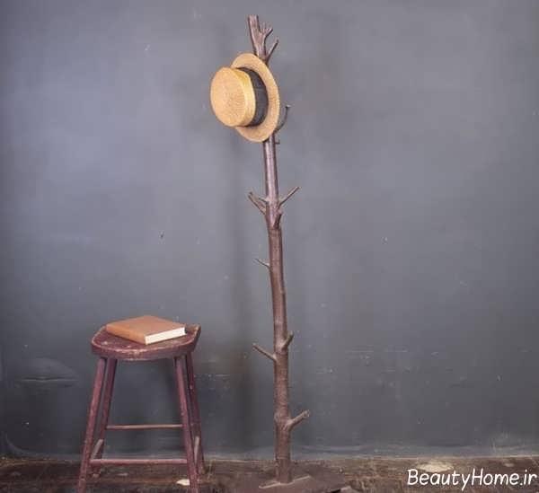 چوب لباسی چوبی