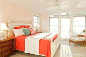 دکوراسیون اتاق خواب گلبهی
