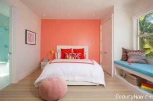دکوراسیون اتاق خواب رنگی