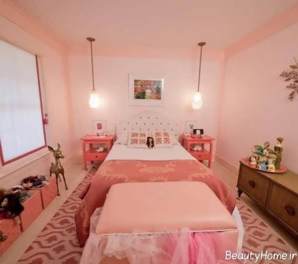 نورپردزای اتاق خواب