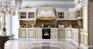 دکوراسیون سلطنتی آشپزخانه